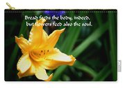 The Beauty Of Flowers Carry-all Pouch