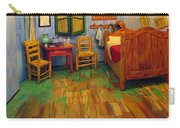 The Bedroom Of Van Gogh At Arles Carry-all Pouch