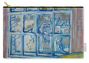 The Bedroom Window Oil & Pastel On Paper Carry-all Pouch