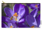 The Bee And The Crocus Carry-all Pouch