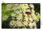 The Bee And The Flowers At Troldhaugen Carry-all Pouch