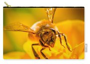 The Bee Gets Its Pollen Carry-all Pouch