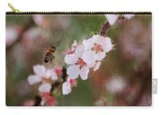 The Bee In The Cherry Tree Carry-all Pouch