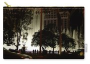 The Bellagio At Night Carry-all Pouch