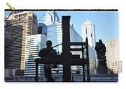 The Ben Franklin Printing Press Statue Carry-all Pouch