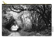 The Bend In The Road Bw Carry-all Pouch