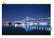 The Benjamin Franklin Bridge At Night Carry-all Pouch