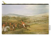 The Berkeley Hunt, Full Cry, 1842 Carry-all Pouch