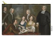 The Bermuda Group, Dean Berkeley And His Entourage, 1728 Carry-all Pouch