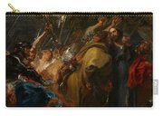 The Betrayal Of Christ Carry-all Pouch by Anthony Van Dyck
