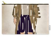 The Big Lebowski Inspired The Dude Typography Artwork Carry-all Pouch by Ayse Deniz