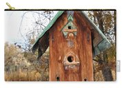 The Birdhouse Kingdom - Spotted Towhee Carry-all Pouch