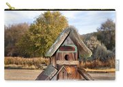 The Birdhouse Kingdom - The American Dipper Carry-all Pouch