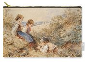 The Bird's Nest Carry-all Pouch by Myles Birket Foster