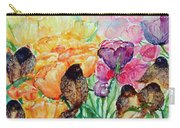 The Birds Of Spring Shower Blessings On You Carry-all Pouch