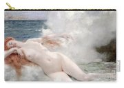 The Birth Of Venus Carry-all Pouch by Henri Gervex