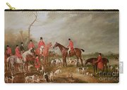 The Birton Hunt Carry-all Pouch by John E Ferneley