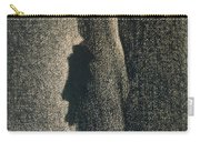 The Black Bow Carry-all Pouch by Georges Pierre Seurat