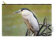 The Black Crown Night Heron Waiting For Dark Carry-all Pouch