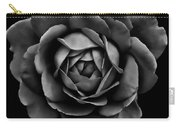 The Black Rose Flower Carry-all Pouch