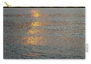 The Black Sea In A Swath Of Gold Carry-all Pouch