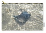 The Black Seashell Carry-all Pouch