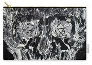 The Black Skull - Oil Portrait Carry-all Pouch