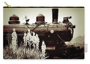 The Black Steam Engine Carry-all Pouch