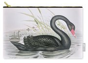 The Black Swan Carry-all Pouch by John Gould