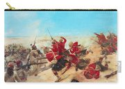 The Black Watch At The Battle Carry-all Pouch by Henri-Louis Dupray