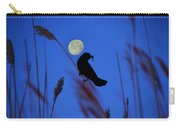 The Blackbird And The Moon Carry-all Pouch