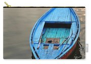 The Blue Boat Carry-all Pouch by Kim Bemis