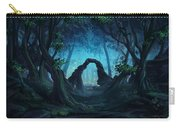 The Blue Forest Carry-all Pouch by Cassiopeia Art