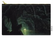 The Blue Grotto Carry-all Pouch by Albert Bierstadt