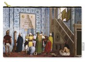 The Blue Mosque Carry-all Pouch by Jean Leon Gerome