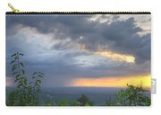 The Blue Ridge Mountains Carry-all Pouch by Debra and Dave Vanderlaan