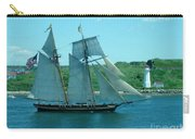 American Tall Ship Sails Past Mcnabs Island Carry-all Pouch