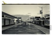 The Boardwalk Before Sunrise In Sepia Carry-all Pouch