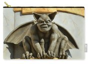 The Boardwalk Of Santa Cruz Gargoyles Carry-all Pouch
