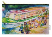 The Boat Trip, 1989 Wc On Paper Carry-all Pouch
