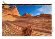 The Bone Yard In The North Coyote Buttes Carry-all Pouch