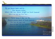 The Bonnie Banks Of Loch Lomond Carry-all Pouch