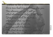 The Book Of Ruth Carry-all Pouch