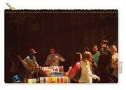 The Bookseller - New York City Street Scene - Street Vendor Carry-all Pouch