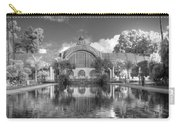 The Botanical Building In Black And White Carry-all Pouch