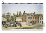 The Bowery, New York, 1783 Carry-all Pouch