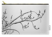 The Branch Of Art Carry-all Pouch