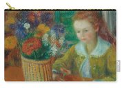 The Breakfast Porch Carry-all Pouch by William James Glackens