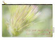 The Breathings Of Your Heart - Inspirational Art By Jordan Blackstone Carry-all Pouch