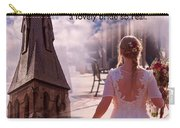 The Bride Of Christ Poem By Kathy Clark Carry-all Pouch